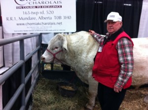 John & Mongo at Canadian Bull Congress