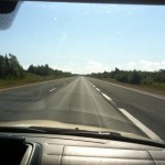 The long roads on our way to Halifax