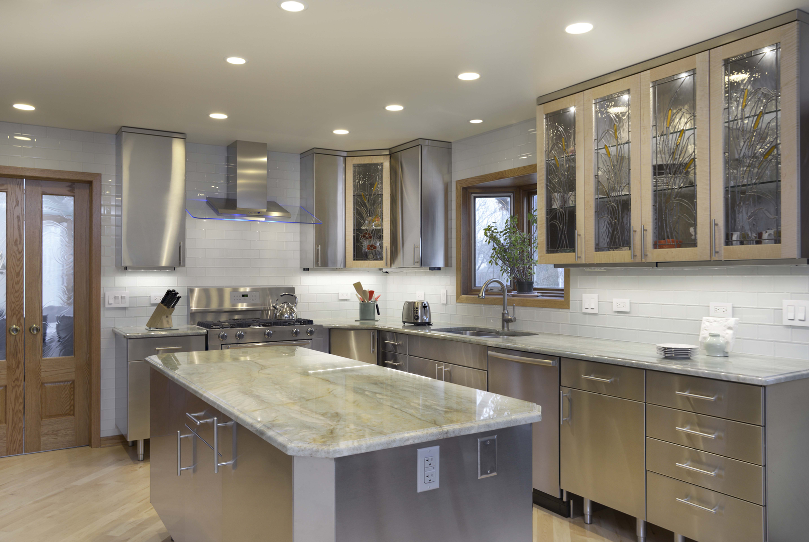 Stainless Steel Cabinets And Countertops Stainless Steel Kitchen Cabinets Concept Minimalist