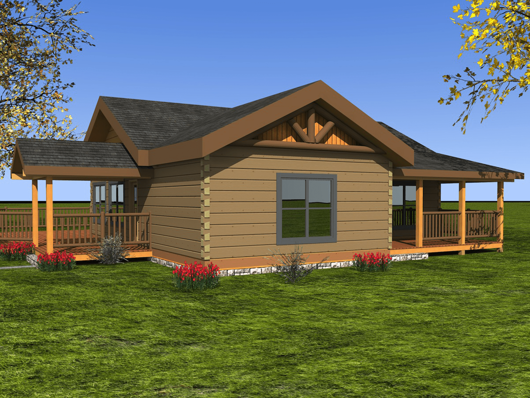 Houses Under 1500 Square Feet Log Homes From 1 250 To 1 500 Sq Ft Custom Timber Log Homes