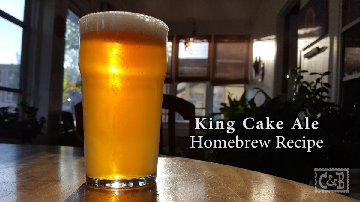 King Cake Ale Homebrew Recipe