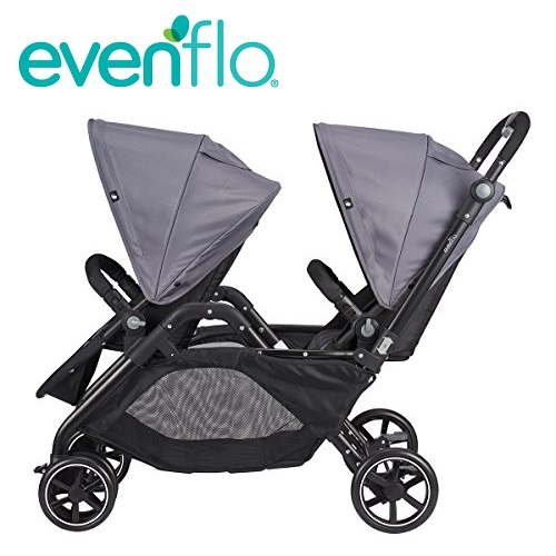Travel System Graco Ev 0006 Evenflo Parallel Tandem Double Stroller 雙座位嬰兒車 可雙向