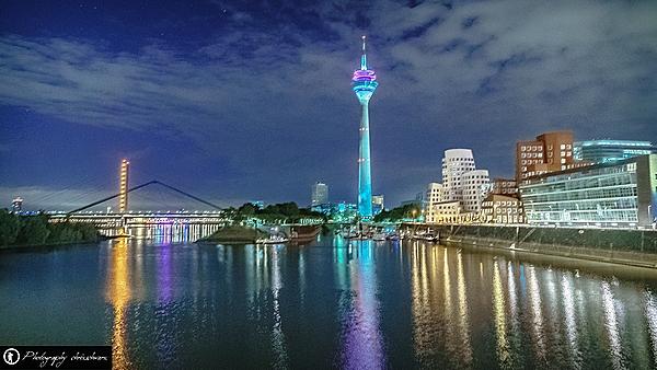 Skyline Medienhafen Düsseldorf