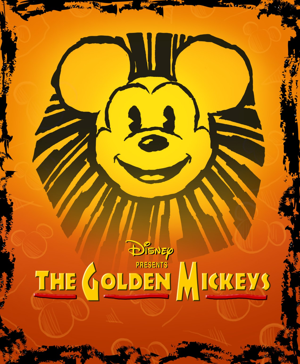 Golden Mickeys Poster
