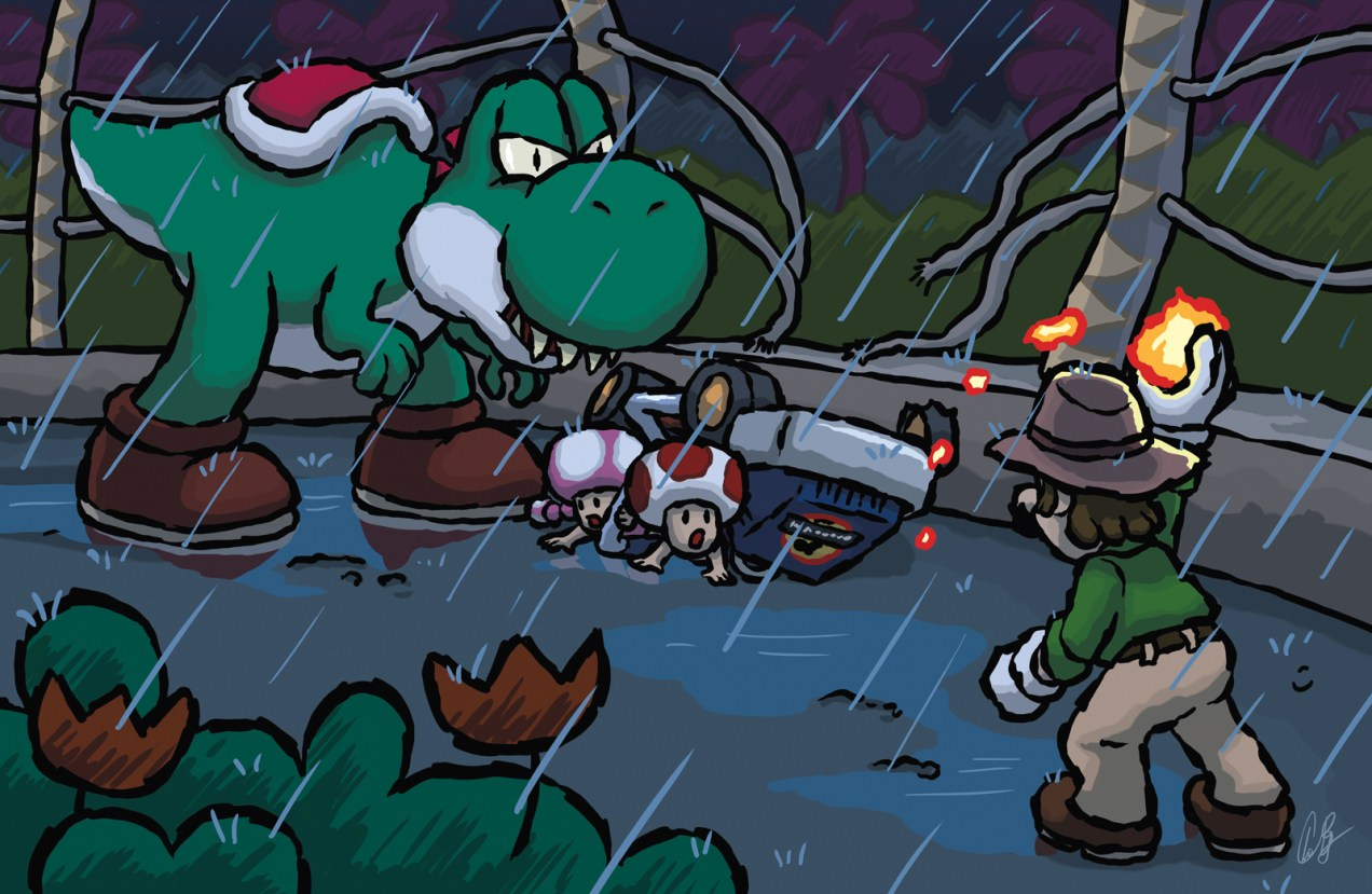 Incident at Isla Yoshi