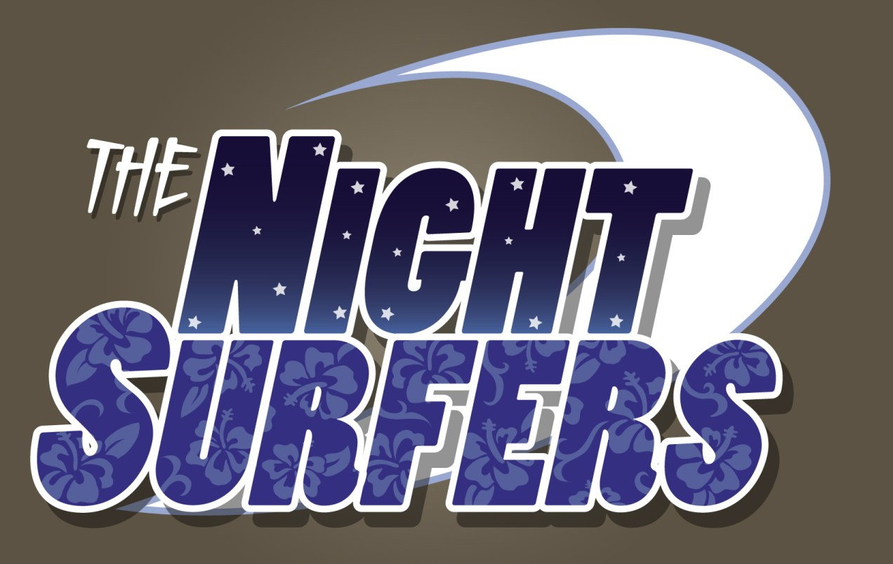 The Night Surfers - Logo