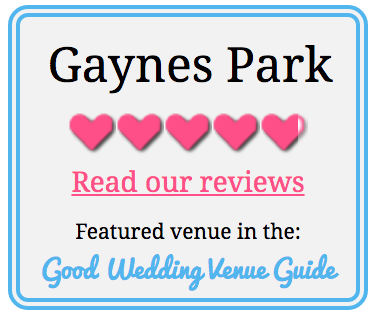 Wedding venue widget