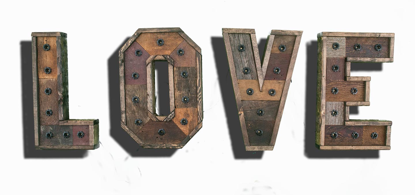 Bad Shabby Chic Any 4 Reclaimed Wood Marquee Letters W Lights Shabby Chic Salvaged Barn Wood Letter Wedding Nursery Letter Restaurant Home Decor