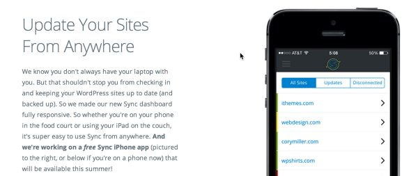 update-multiple-wordpress-sites-phone
