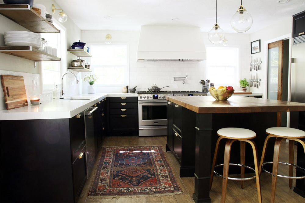 Second Hand Kitchen Island It's Done! : The Full Kitchen Reveal - Chris Loves Julia