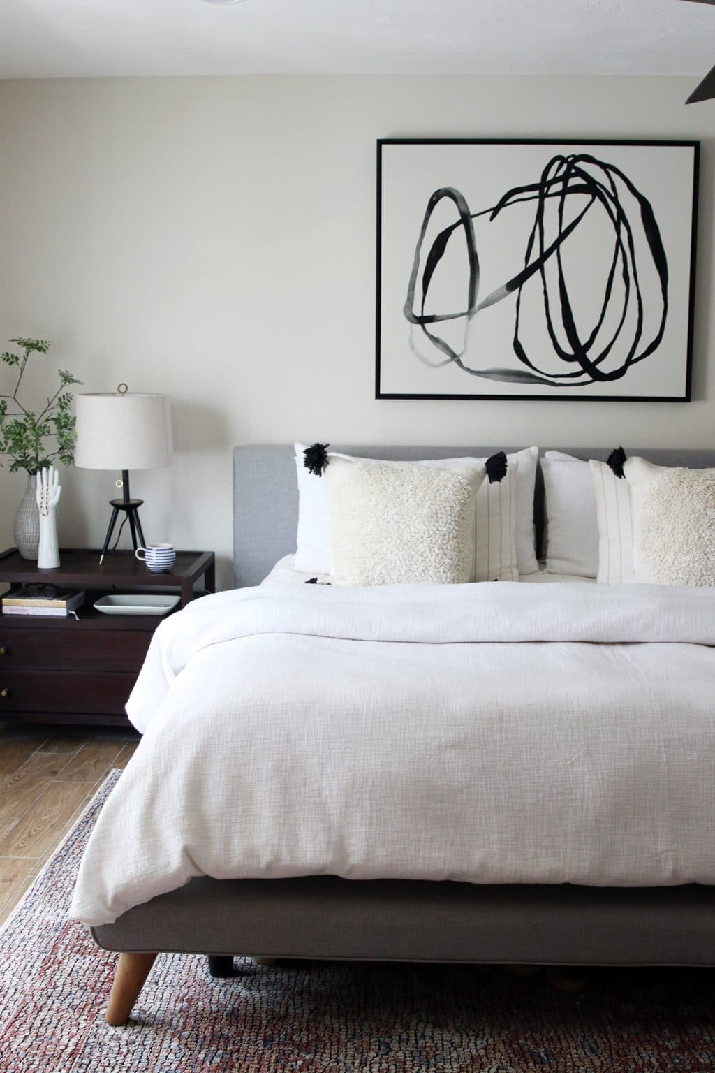 Black And White Artwork For Bedroom New Abstract Art In The Bedroom Chris Loves Julia