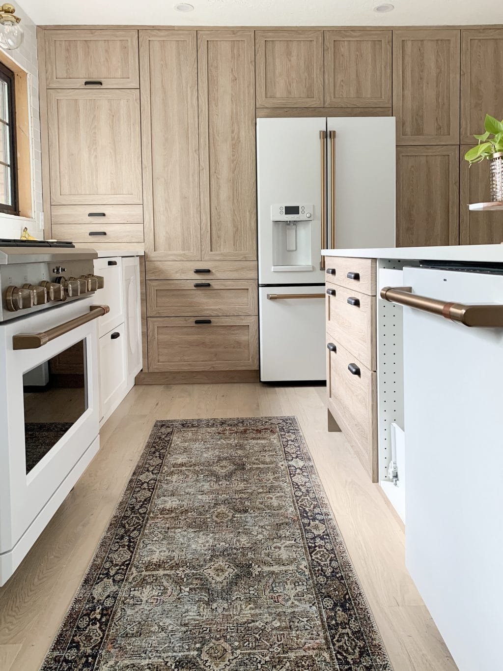 Everything You Need To Know About Using Semihandmade Fronts With Ikea Cabinets And Our Cove Line In The Fullmer Kitchen Chris Loves Julia