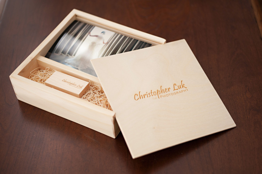Toronto Wedding Photographer USB Key Boutique Packaging - box prints