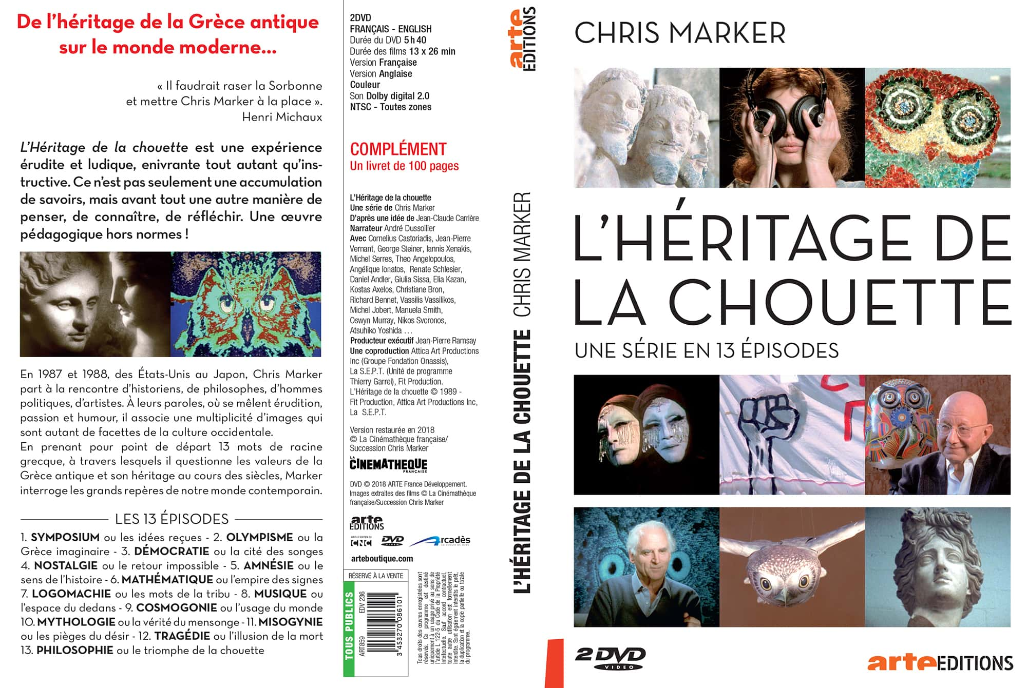 Arte Replay Cinema Greek Subtitled Heritage Of The Owl Taken Down Chris Marker