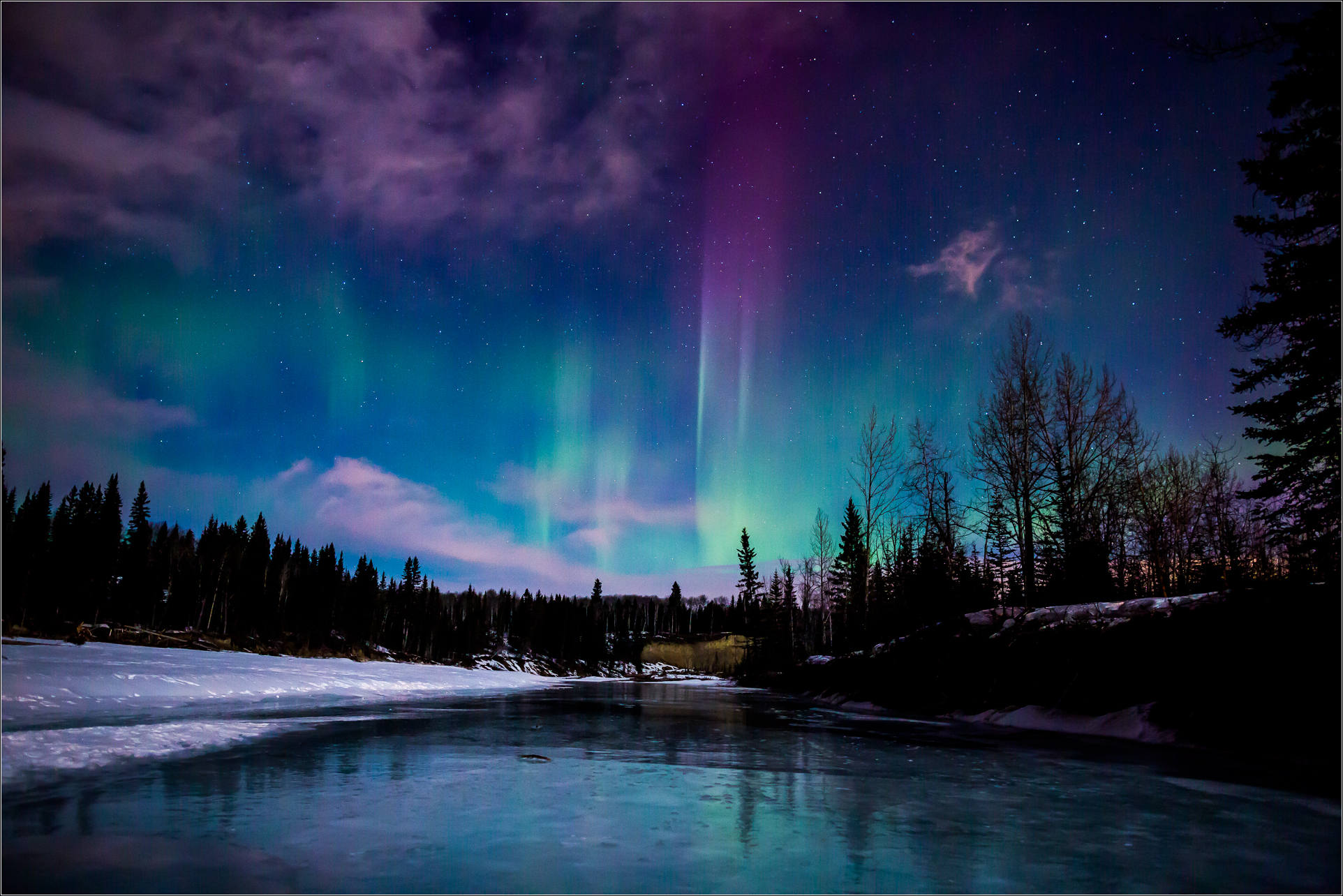 How To Make Your Own Live Wallpaper Iphone X Northern Lights Christopher Martin Photography