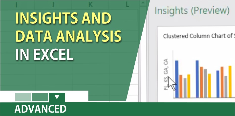 Insights in Excel - Get automated, fast, accurate analysis of your