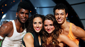 "The Season 9 Finalists on ""So You Think You Can Dance"""