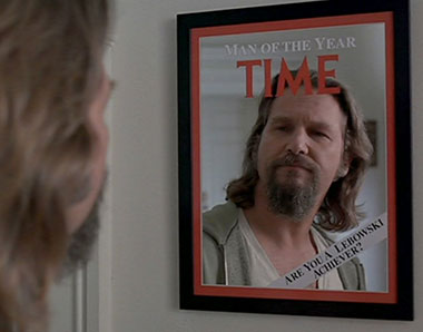 Jeffrey Lebowski: Time Man Of The Year