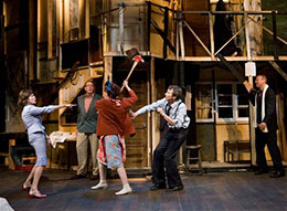 Scene from 'Noises Off!'
