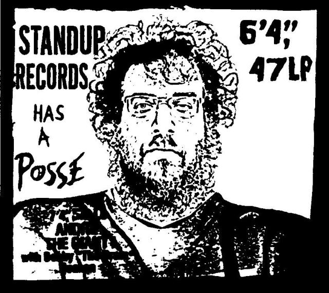 Stand Up! has a posse -sticker, T shirt