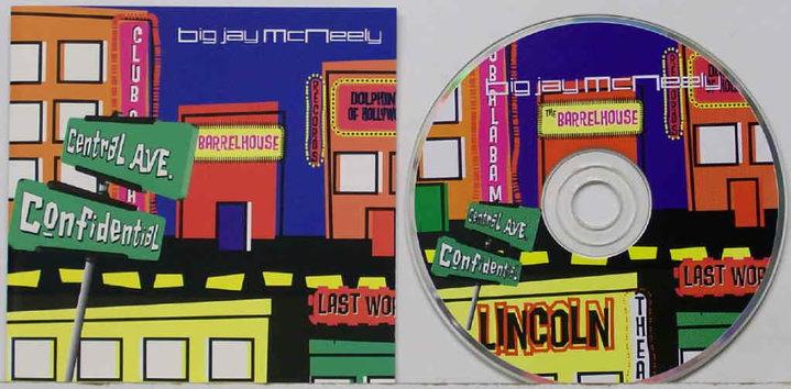 Big jay Macneely- album package