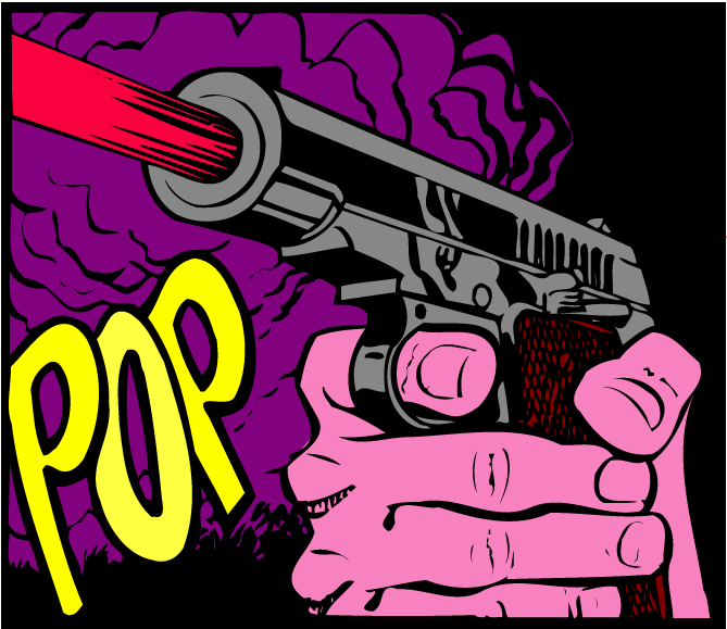 Popgun -rug