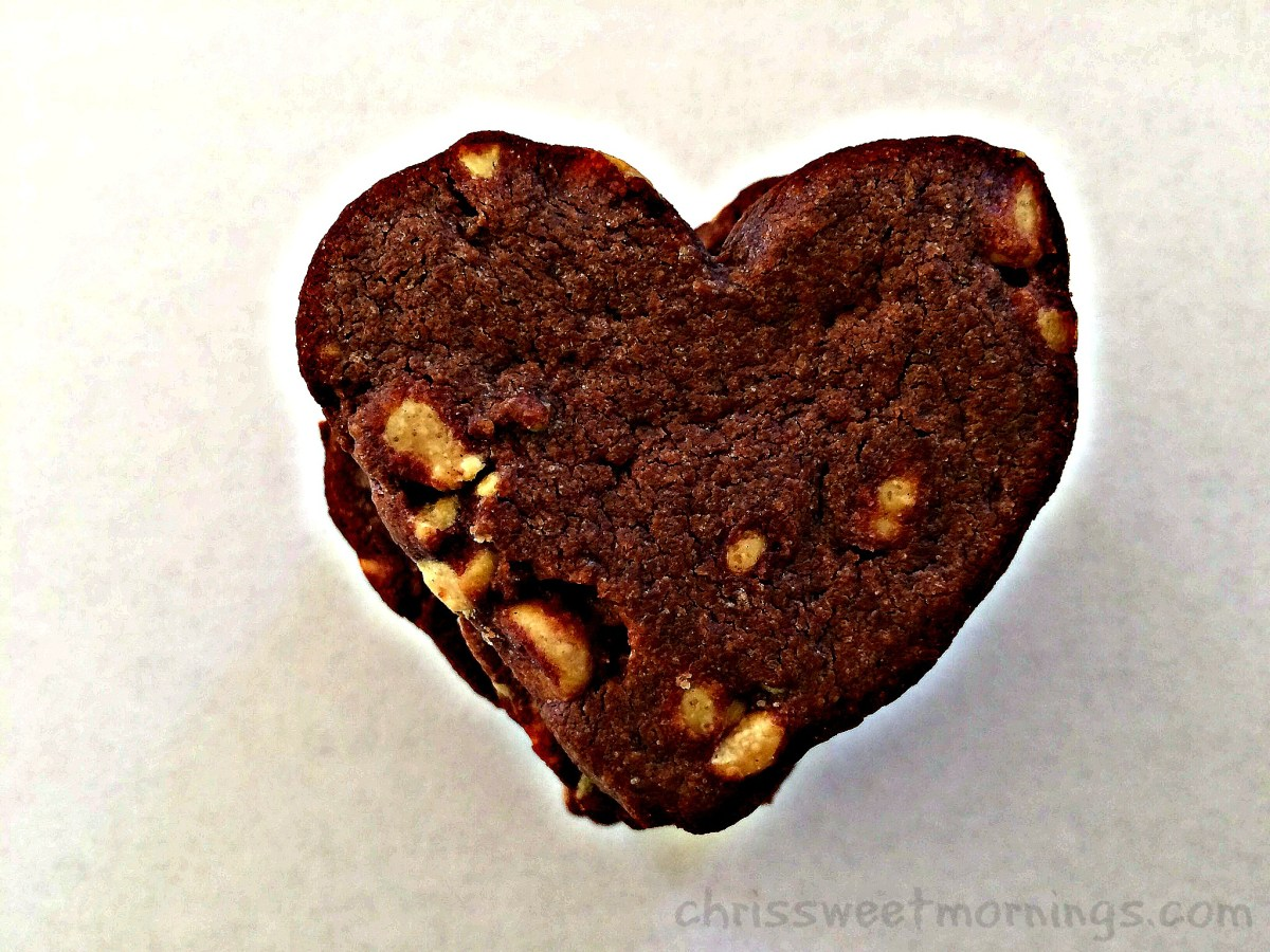 Chocolate Peanut Butter Chip Shortbread & Book Review