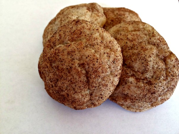 Snickerdoodle Cookies slightly adapted from Fannie Farmer Baking Book
