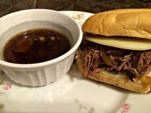 Slow Cooker Beef French Dip Sandwiches