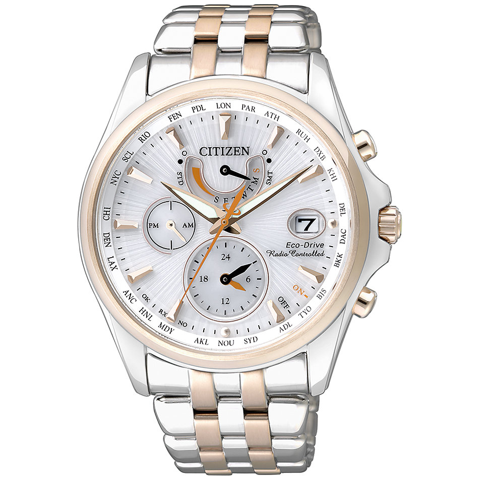 Chronograph Damen Uhr Citizen Eco Drive Funk Chronograph