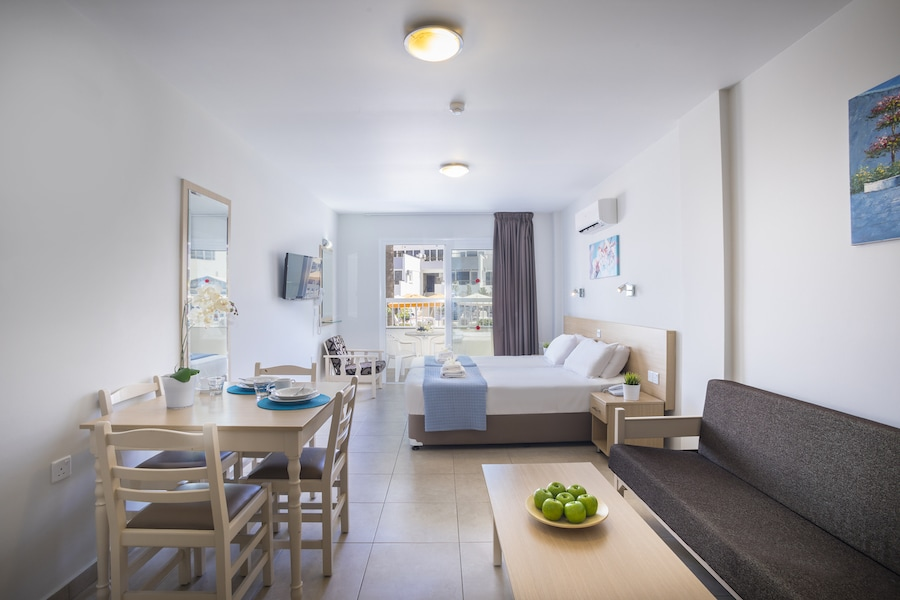 Sofabed Studio Apartment | Christabelle Hotel Apartments, Ayia