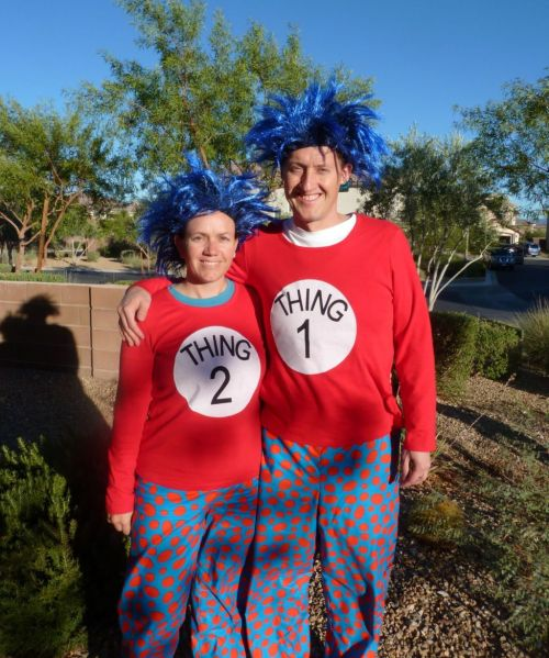 Dr Seuss Quilt Thing 1 And 2 Costumes Halloween Quilt Ideas