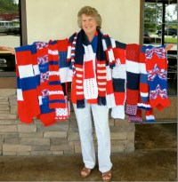 Scarves Presented for Special Olympics | The Vineyard