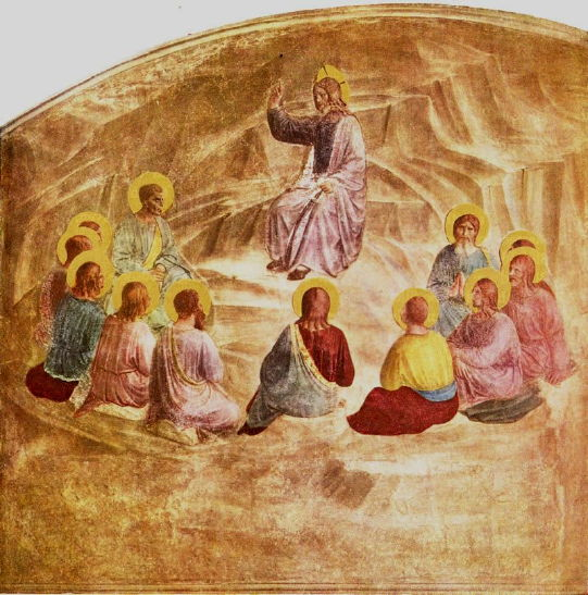Fra Angelico, Sermon on the Mount