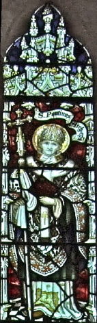 Cathedral of St John the Baptist, Saint Paulinus window