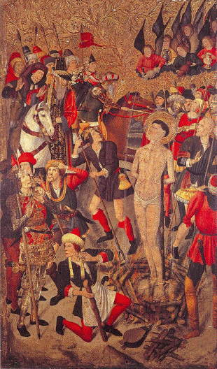 Huguet, Martyrdom of St Vincent