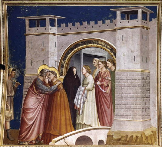 Giotto, Meeting at the Golden Gate