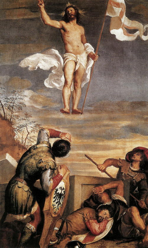 Titian, Resurrection, 1544