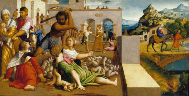 Caroto, Massacre of the Innocents and the Flight into Egypt