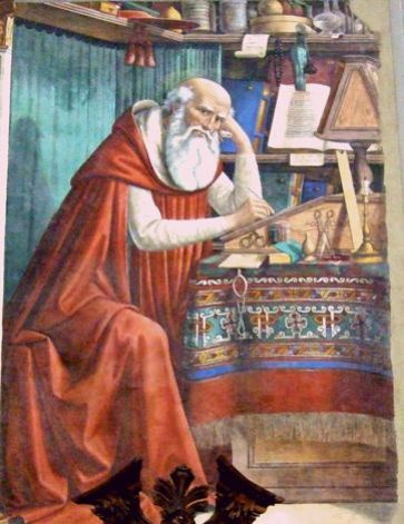 Ghirlandaio, St. Jerome in his Study