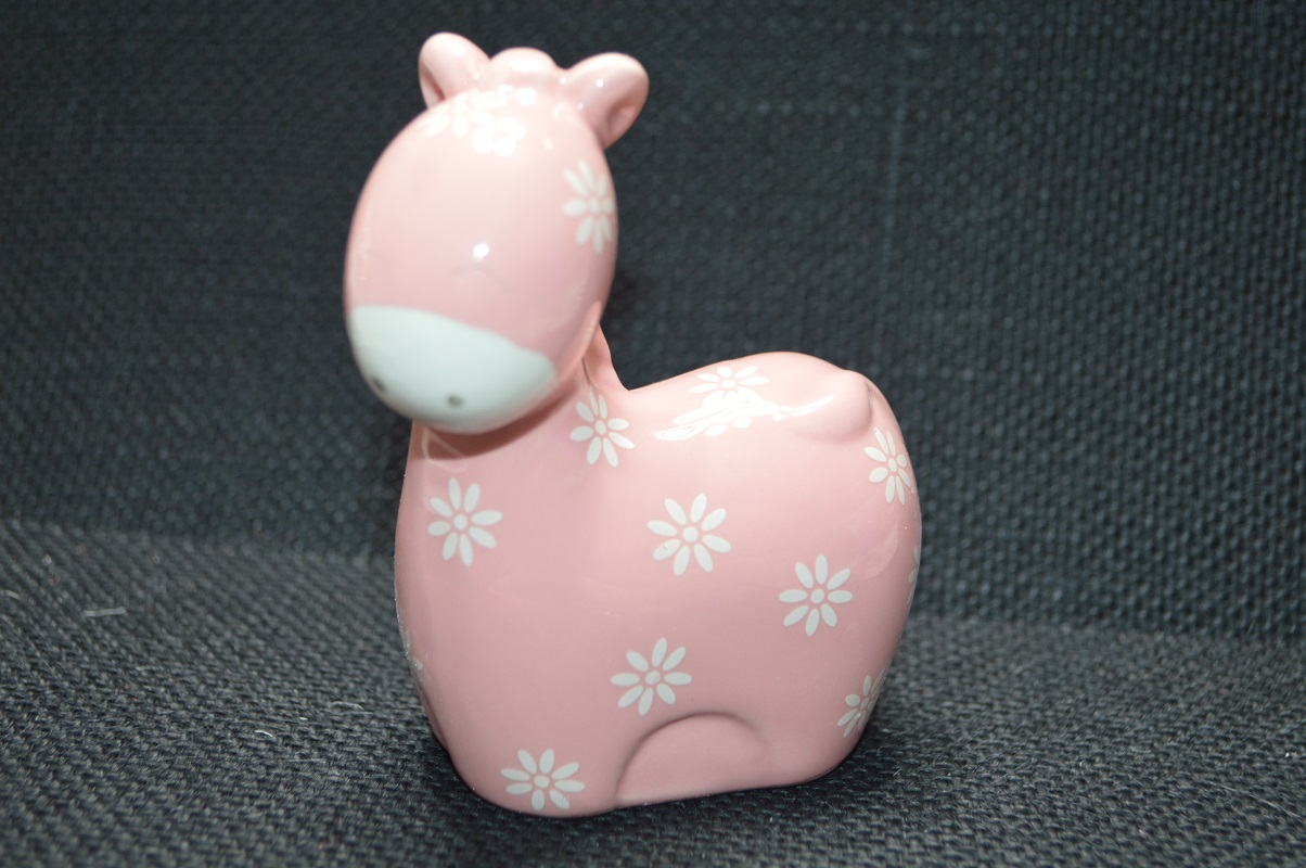 Animal Coin Banks Pink Animal Coin Bank