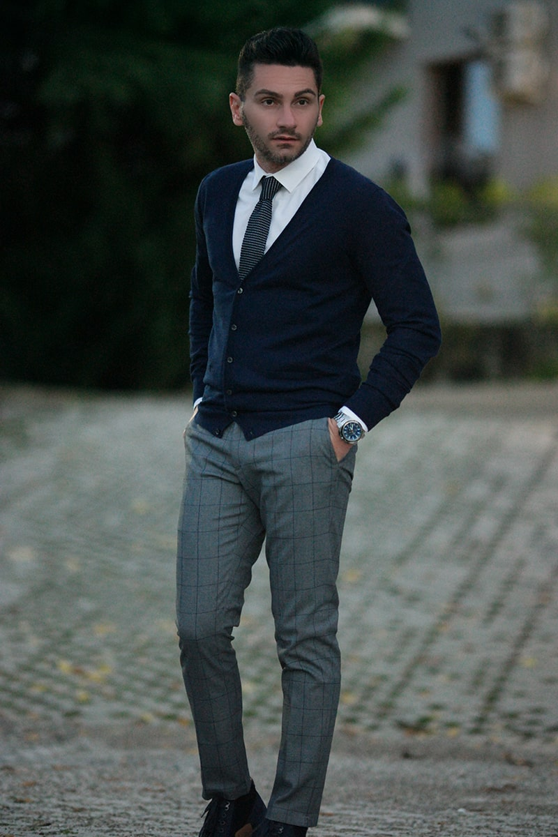 Party Chic Outfit Uomo Casual Chic