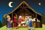 Christmas Nativity Picture for kids