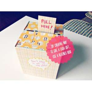 Catchy Cash Gift Box Mom S 65th Money Gift Ideas Mom From Daughter Diy Birthday Ideas Ways To Give Birthday Ideas