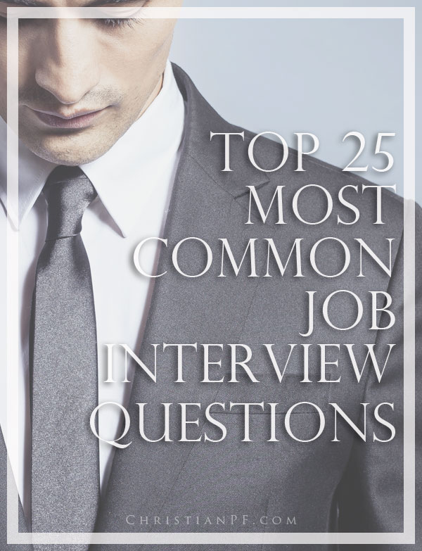 most common behavioral interview questions