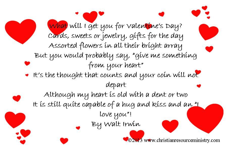 Valentine\u0027s Day Card Ideas Christian Resource Ministry