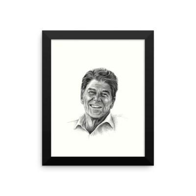 Ronald Reagan Framed Poster