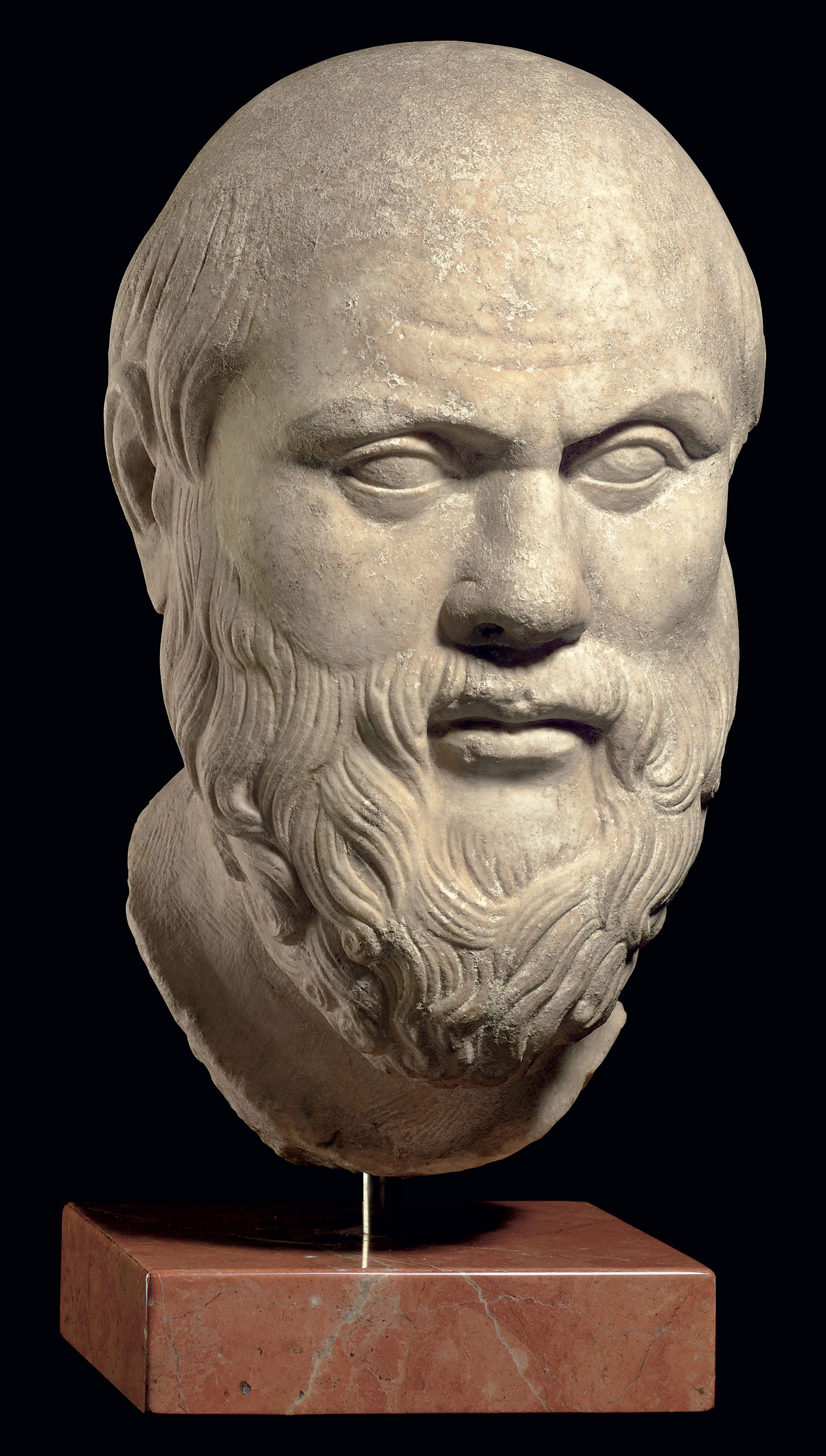 Ancient Greek Statues For Sale A Roman Marble Portrait Head Of Socrates Circa 1st