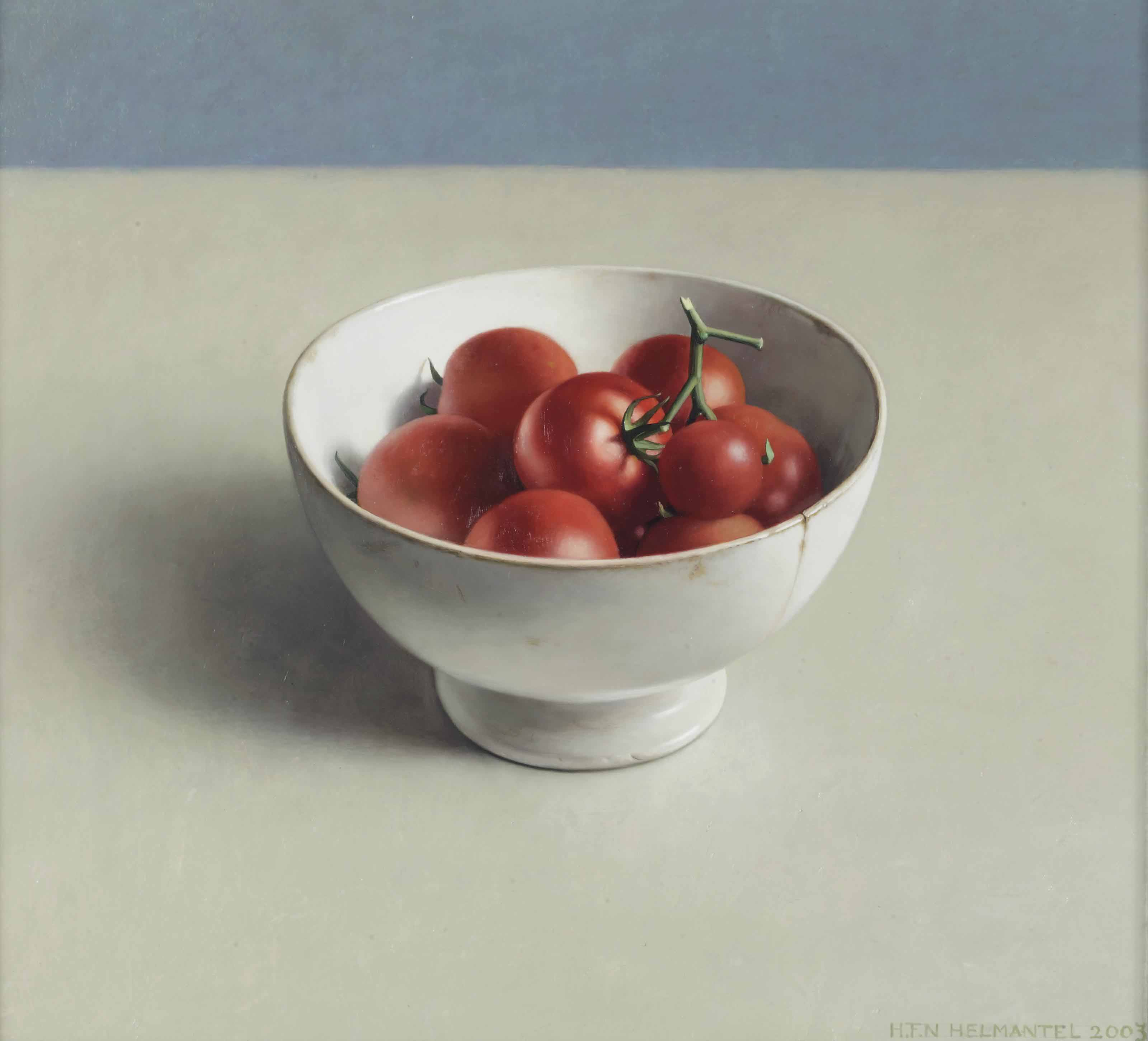 Helmantel Museum Henk Helmantel (b. 1945) , A Still Life With Tomatoes In A