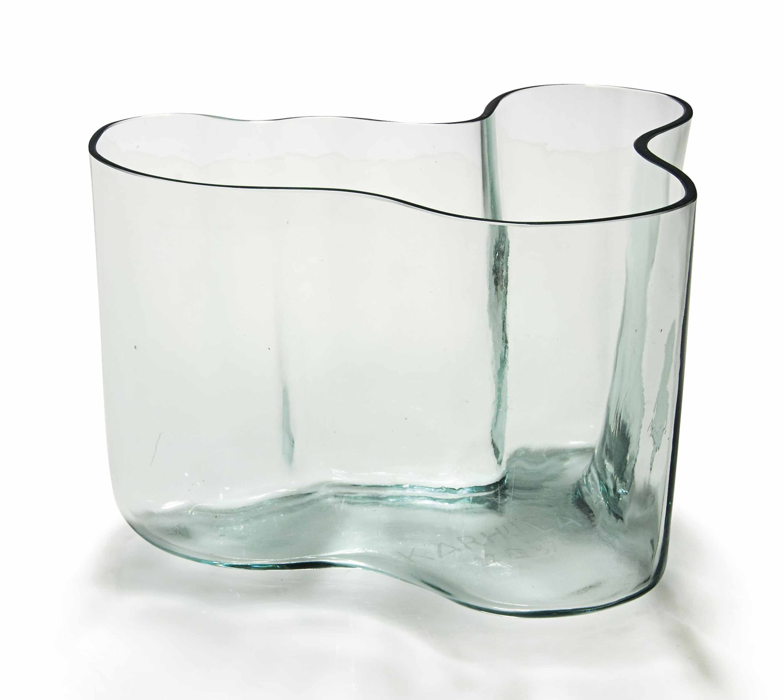 Savoy Vase Alvar Aalto 1898 1976 An Important And Early Savoy Vase